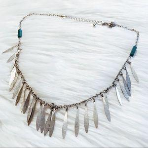 American eagle boho statement necklace